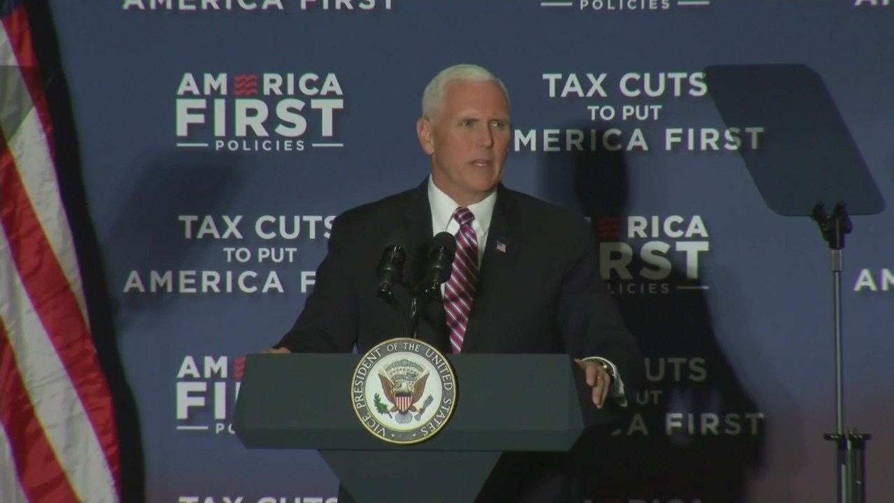 Mike Pence in Milwaukee