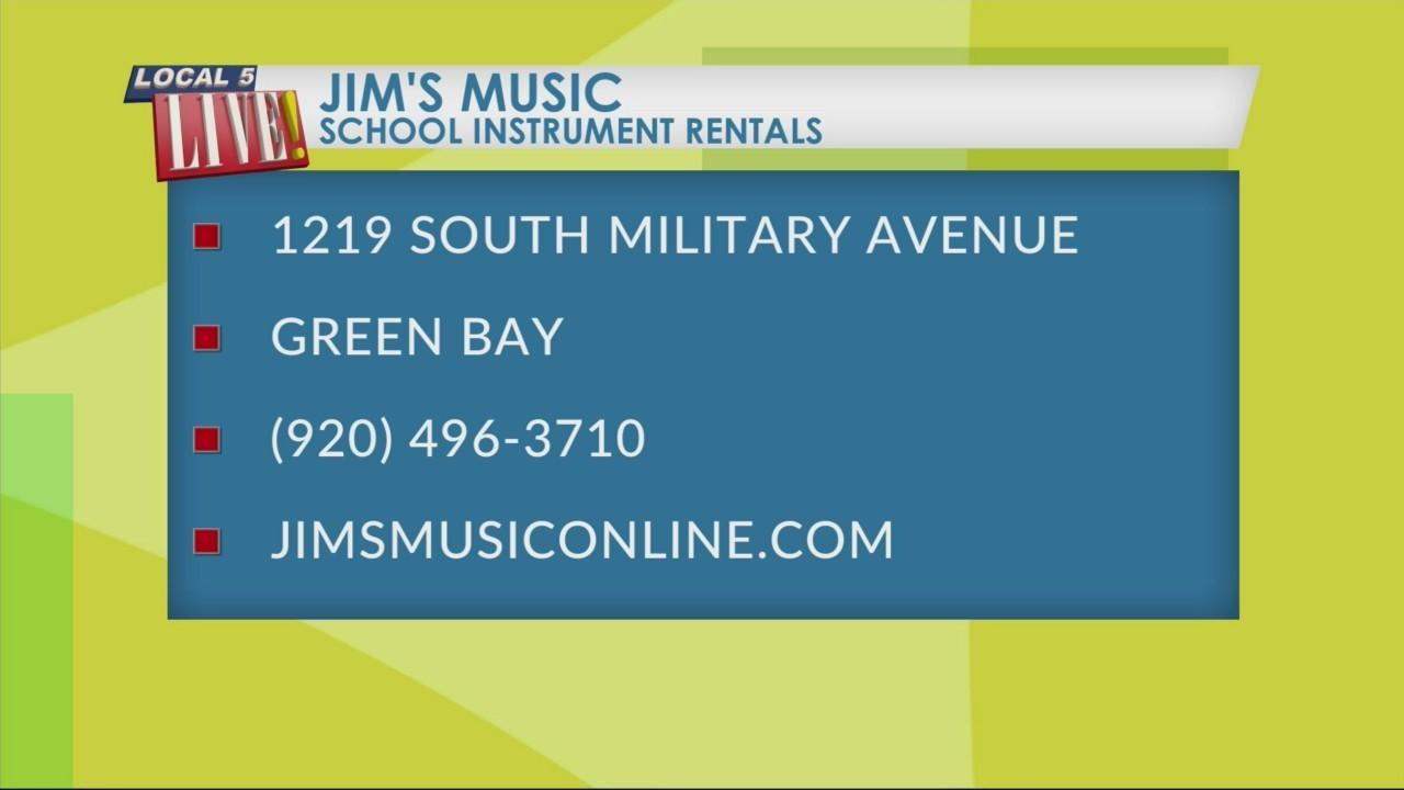 Jim's Music:School Instrument Rentals