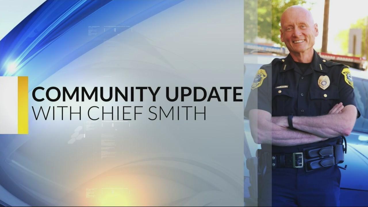 Chief Smith's Community Update: 10-18-18