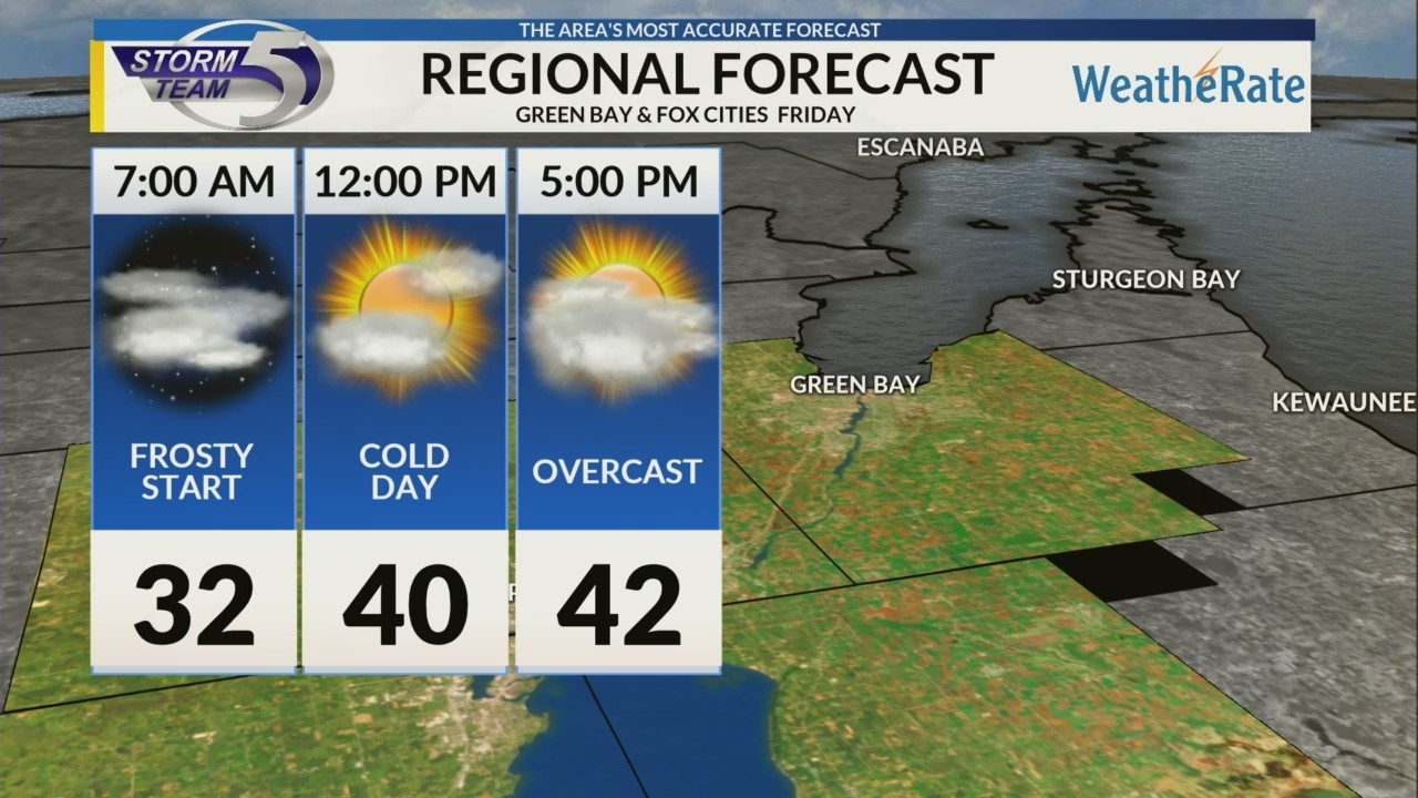 Regional Forecast: Green Bay/Valley 10/12/2018