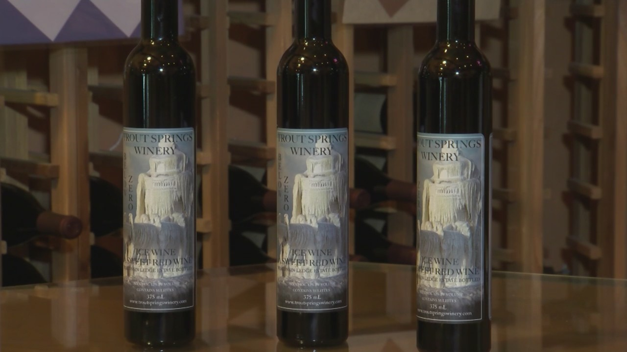 New Ice Wine and Gift Baskets at Trout Springs Winery