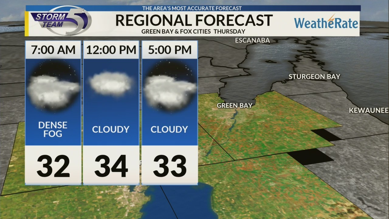 Regional Forecast: Green Bay and the Fox Cities 12-13