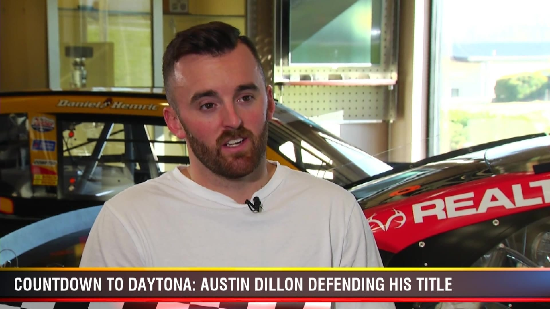 Countdown to Daytona: Dillon ready to defend his title