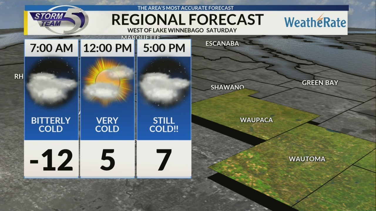 Regional Forecast: Central WI 1/26/2019