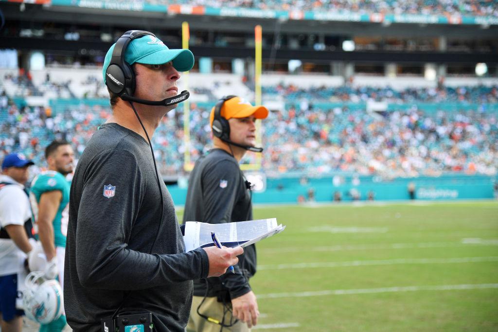 Dolphins head coach Adam Gase