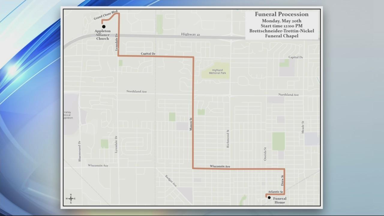 Fallen Firefighter Procession Plans