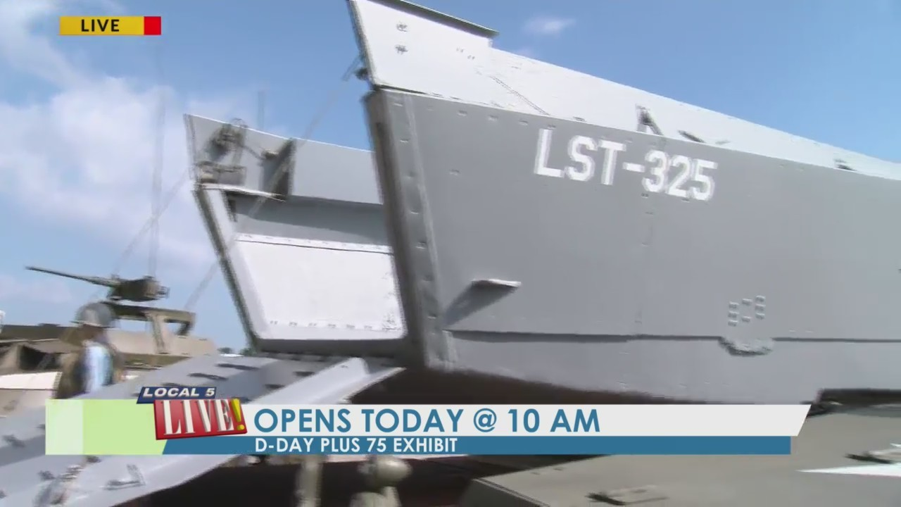 D-Day vehicles on display for new EAA exhibit