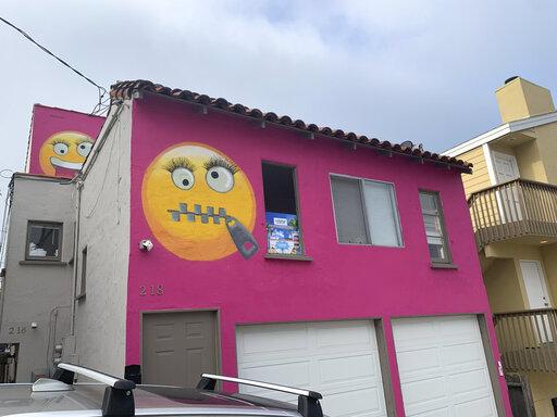 Giant emoji painted on house roil California community | #weaergreenbay#