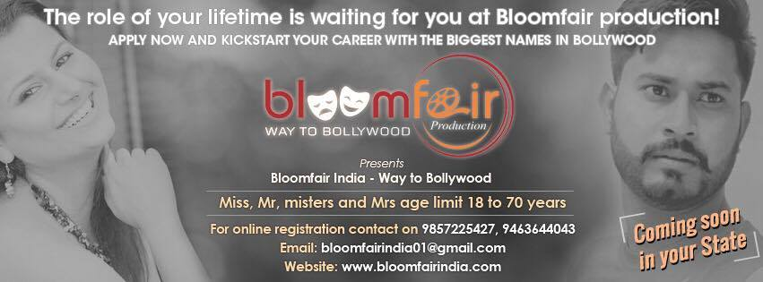 Bloomfair India : Way to bollywood : Season 2 : Coming Soon