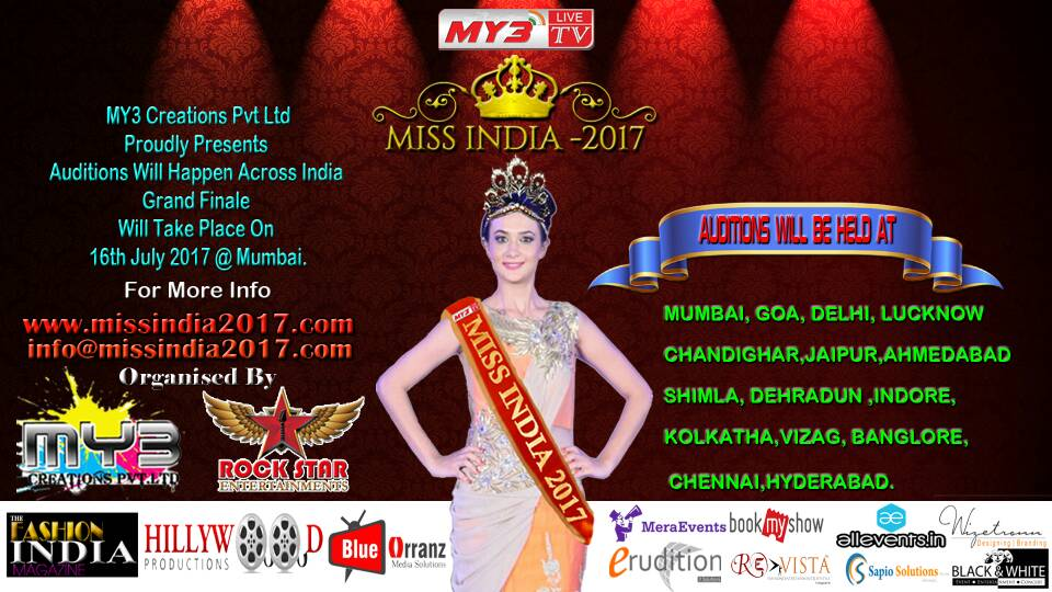 Miss India 2017 Auditions