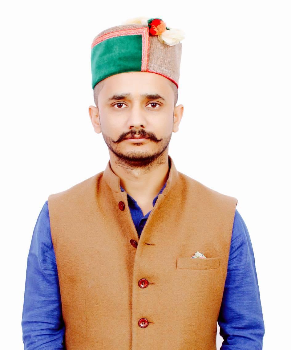 vinod Zinta Himachal Youth Congress general Secretary