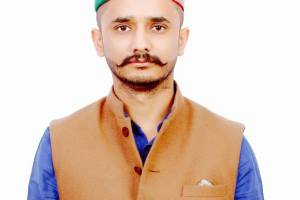 vinod Zinta Himachal Youth Congress general Secretary