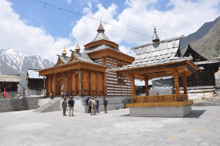 Mathi Devi temple Chitkul Kinnaur Himachal Pradesh