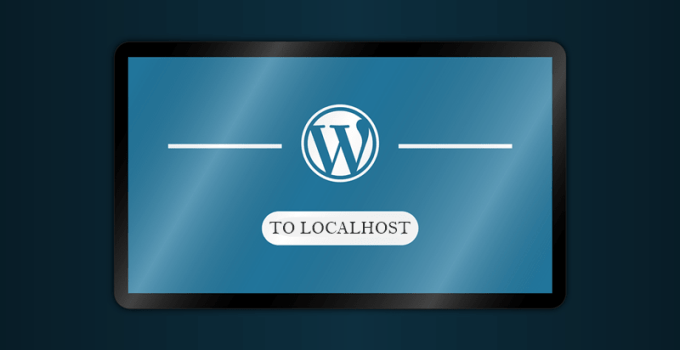 install wordpress to localhost