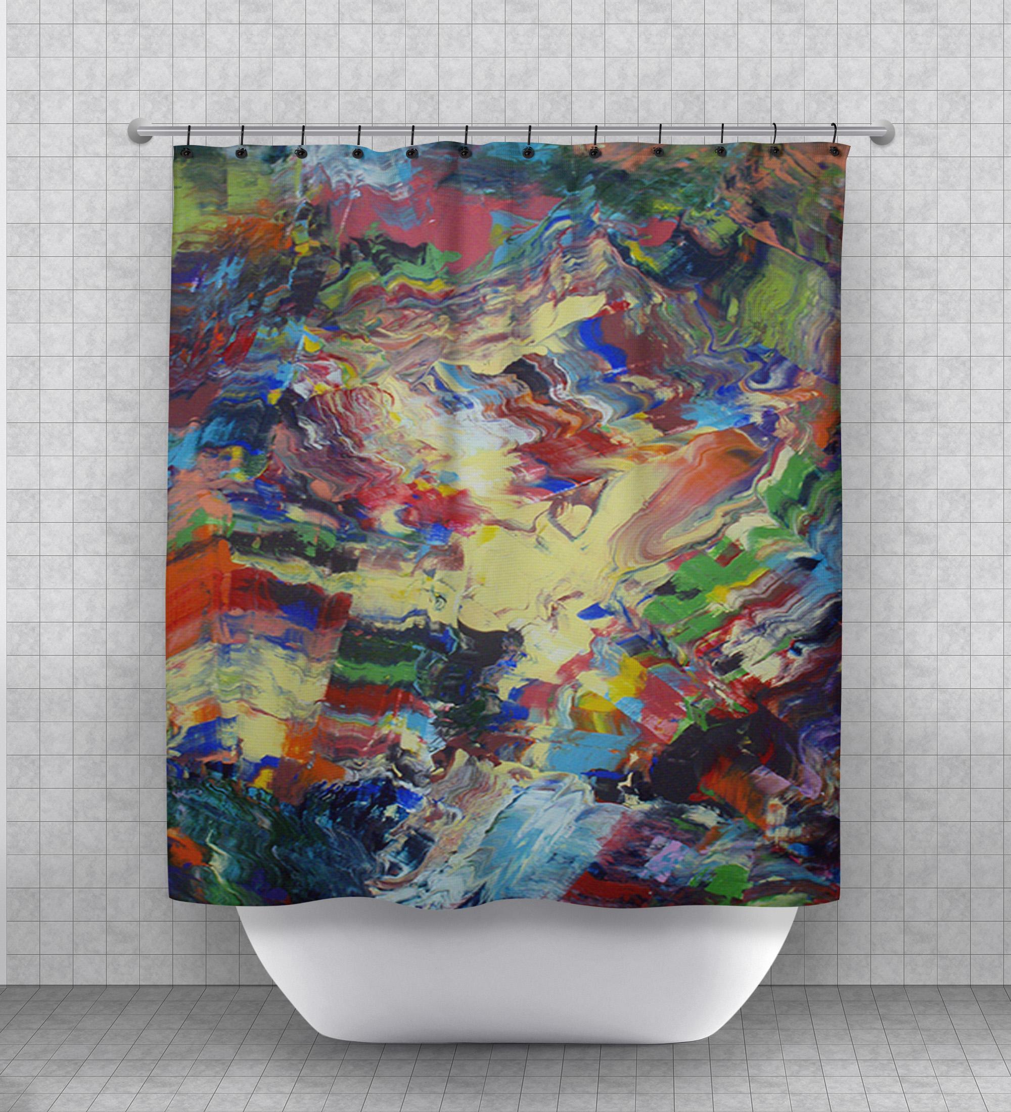 168 marvel shower curtain