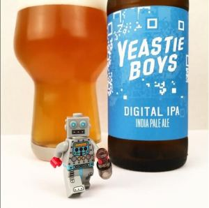 Bottle of Yeastie Boys Digital IPA
