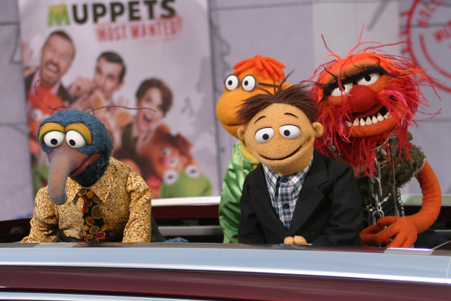 WAMG At The World Premiere Of MUPPETS MOST WANTED