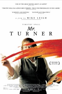 Poster for 2014 biographical drama Mr Turner