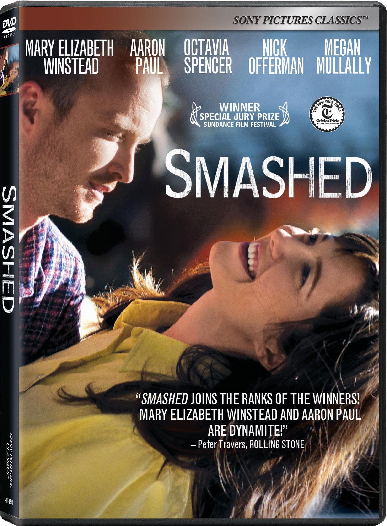 Smashed On Blu Ray And Dvd March 12th