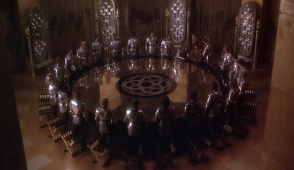 Image result for excalibur 1981 round table