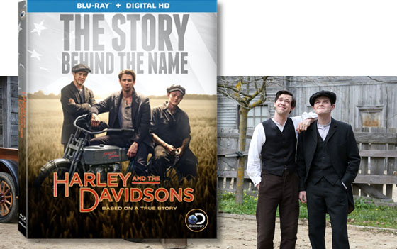 harley and the davidsons available on blu-ray and dvd december 13