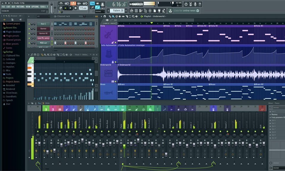 FL Studio, Fruity Loops, Tech, Soundspace, Image Line