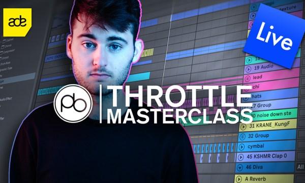 Watch Throttle Breakdown his Emotional Club Gem 'Wanderlust' in Point Blank's Latest Masterclass
