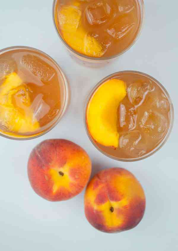 Vodka Peach Iced Tea