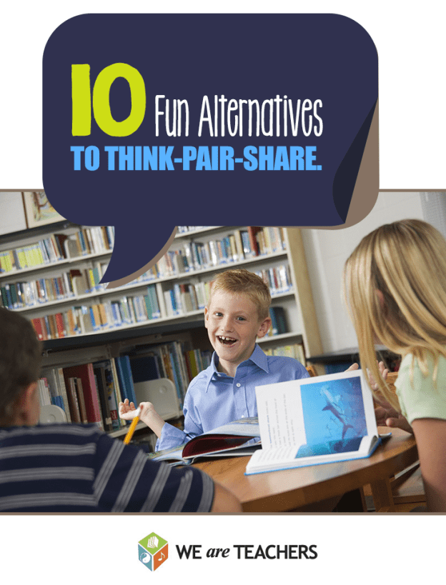 5 Fun Alternatives to ThinkPairShare WeAreTeachers – Think Pair Share Worksheet