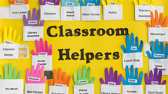 Classroom Duty Roster Design ~ Flexible fun and free classroom job chart ideas