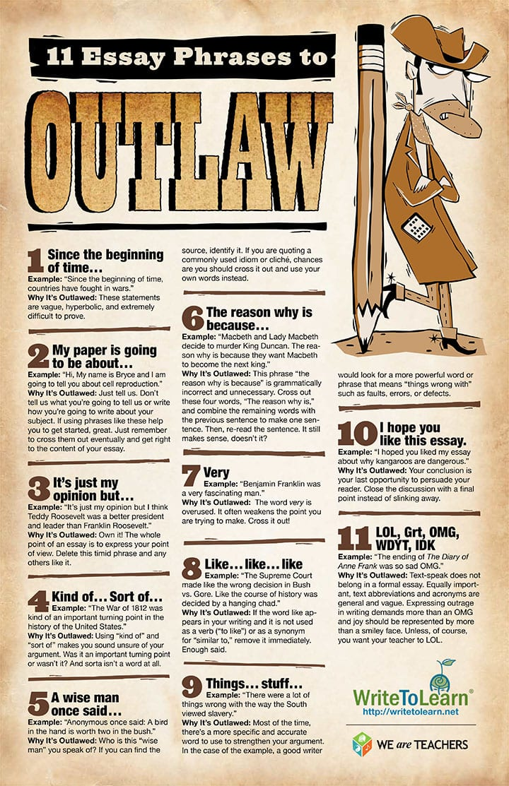11 essay phrases to outlaw  11 essay phrases to outlaw