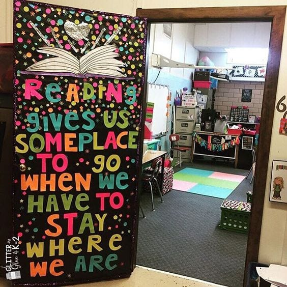 Classroom Theme Ideas List ~ Awesome classroom doors for back to school