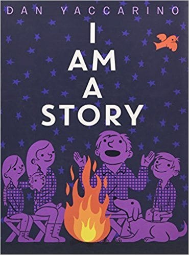 books about reading: i am a story