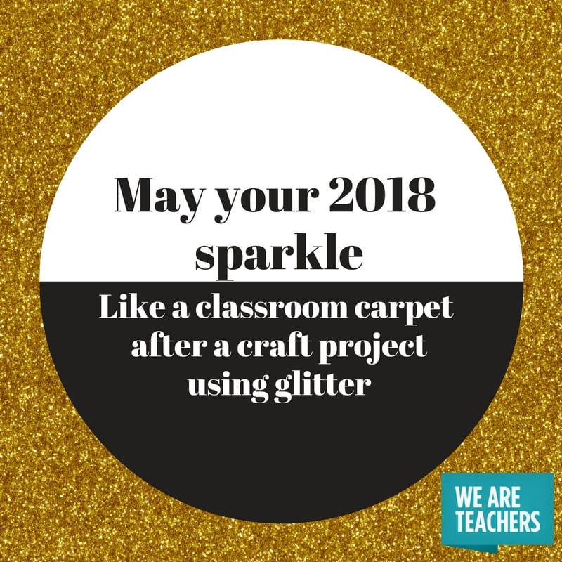 May Your 2018 Sparkle