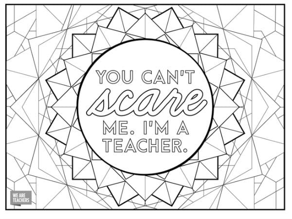 because teachers are tough