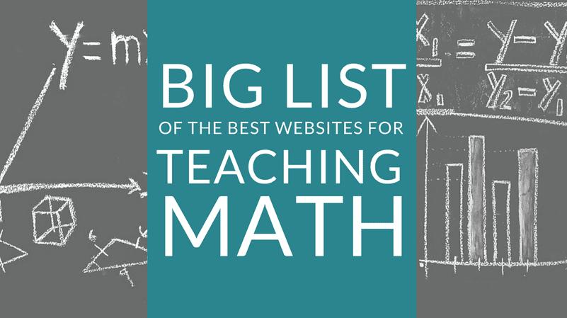 best websites for teaching math