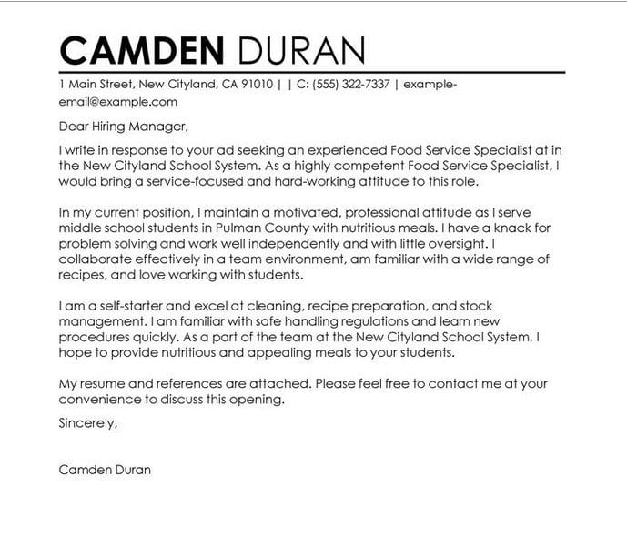 5 awesome sample cover letters for teachers