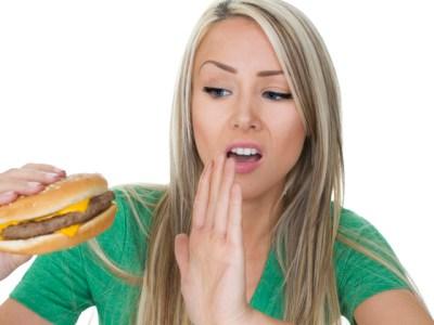 saying no to junk food