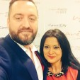 Andy and Sachna - Selfie taken at WeAreTheCity Women Unplugged