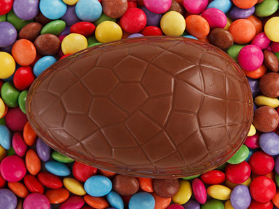 Smartie Easter Egg