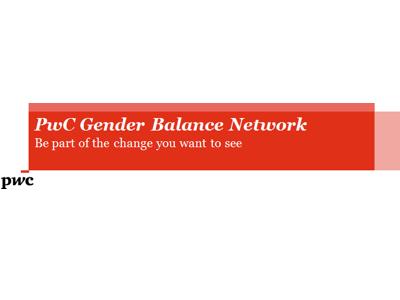 PwC Gender Balance Network