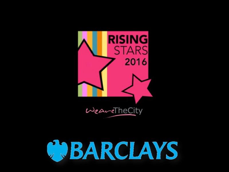 Barclays & WeAreTheCity Rising Stars featured