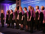 The Military Wives Choir at the Rising Star Awards 2016