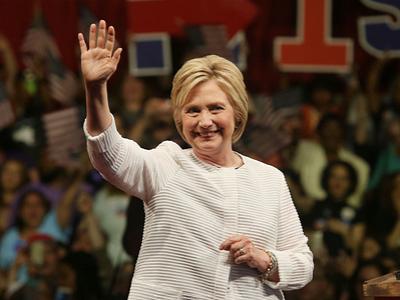 Hillary Clinton female leader
