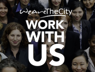 Work with us at WeAreTheCity - Find out more here