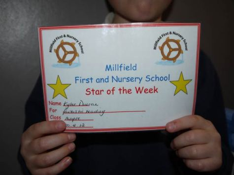 Star Of The Week Certificate For Reading