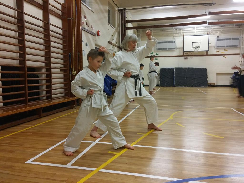Kyler Hits The DOJO For The First Time