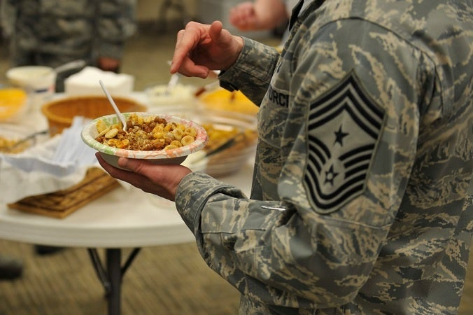 How a lack of sleep could be affecting the weight problem in the military