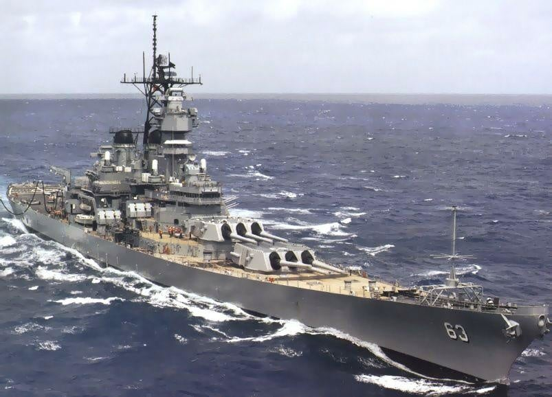 This is why the US Navy doesn't use battleships anymore