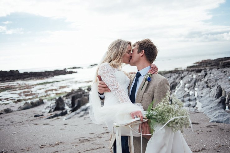 Devon Beach Elopement